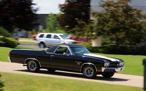 Картинка Chevrolet, Chevy, Super Sport, El Camino, автомобиль. классика