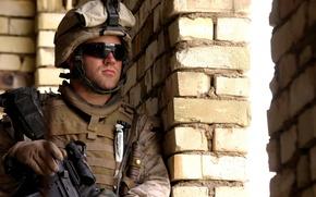 Картинка bricks, us marines, helmet, uniform, goggles