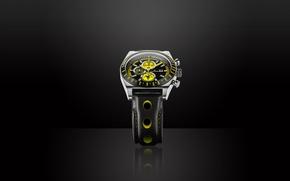 Картинка black, yellow, watch, Jack Pierre