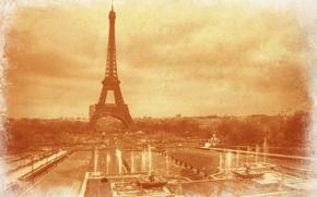 Картинка Франция, Париж, Эйфелева башня
