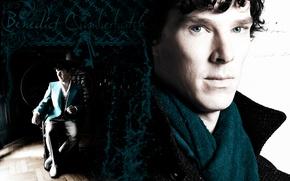 Обои sherlock, benedict, красавчик, bbc