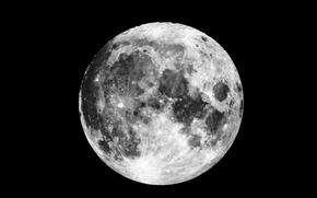 Картинка moon, satellite, natural