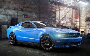 Картинка Mustang, Ford, Ubisoft, The Crew