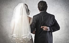 Картинка юмор, невеста, жених, Молодожёны