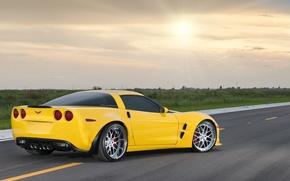 Обои Chevrolet, corvette, авто