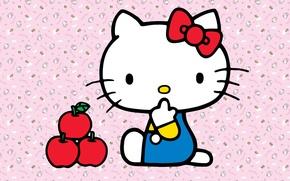Картинка китти, hello kitty, кошечка, для девочек