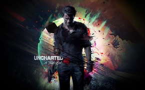Картинка игра, game, playstation, uncharted, ps4, Uncharted 4, Путь вора, The Thiefs End