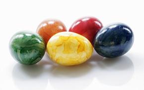 Картинка узор, цвет, яйца, пасха, разноцветные