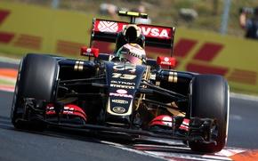 Картинка Lotus, Профиль, Formula 1, Pastor Maldonado, E23