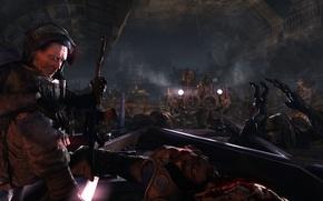 Картинка оружие, монстры, Метро 2033