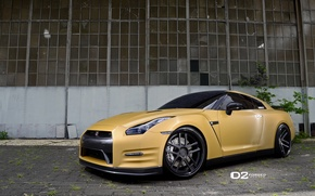 Картинка GTR, NISSAN, FORGED