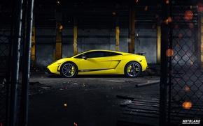 Картинка Lamborghini, Superleggera, Gallardo, Yellow