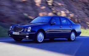Картинка Mercedes-Benz, Mercedes, E-class, E-Klasse, 1999, E-класс, W210, Executivklasse, Лупатый, Глазастый, 4Matic, E430