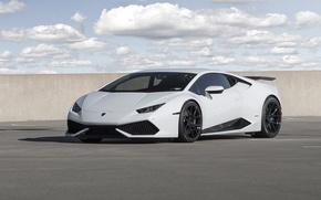 Картинка Lamborghini, Wheels, Strasse, Huracan