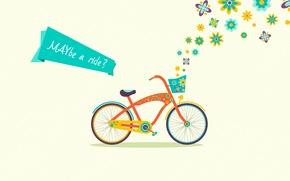 Картинка велосипед, май, may, maybe a ride