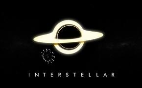 Картинка космос, фильм, арт, постер, spaceship, Interstellar, интерстеллар, Межзвёздный, нолан