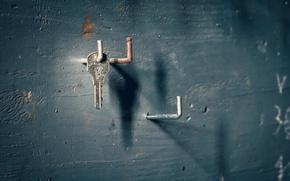 Картинка фон, стена, ключ