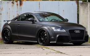 Картинка car, Audi, black, tuning, 2009, german, matte, Avus performance