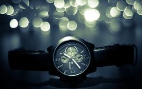 Картинка блики, часы, ремешок