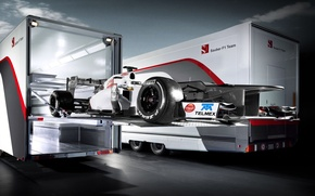 Картинка болид, Formula1, Sauber