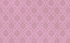 Обои pattern, vintage, фон, texture, paper, орнамент, узор, wallpaper