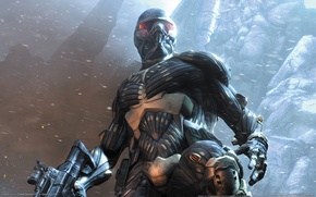 Обои оружие, Crysis, броня