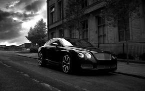 Картинка Bentley, Project Kahn, Black, GTS Black Edition, Gray & White