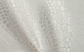 Картинка белый, узор, ткань, орнамент, атлас, шёлк, текстиль, змеиная кожа