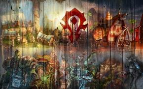 Картинка герб, undead, гоблин, орк, warcraft, wow, орда, world of warcraft, blood elf, тролль, troll, вов, …