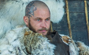 Картинка лицо, Vikings, Викинги, Travis Fimmel, Ragnar Lothbrok