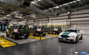 Картинка Mustang, Ford, Dubai, Police, Garage, Roush