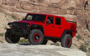 Картинка Concept, джип, концепт, Wrangler, Jeep, 2015, вранглер, Red Rock Responder