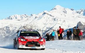 Картинка Citroen, DS3, WRC, Rally, Ралли, Monte Carlo, Kris Meeke, Фас