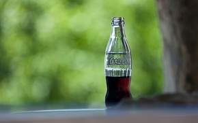 Картинка фон, бутылка, coca cola