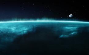 Обои земля, космос, koinot