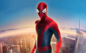 Картинка city, Parker, spider man, the amazing spider man