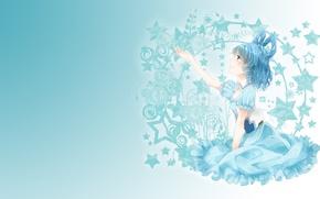 Картинка мечта, девушка, нежность, арт, touhou, fumiko, kaku seiga, звузда