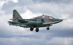 Обои Su-25, самолёт, оружие