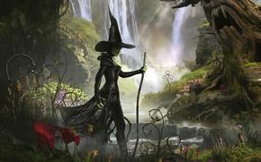 Картинка Природа, Ведьма, Шляпа, Фантастика, Oz The Great And Powerful