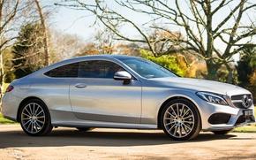 Картинка Mercedes-Benz, мерседес, AMG, Coupe, C-Class, C205