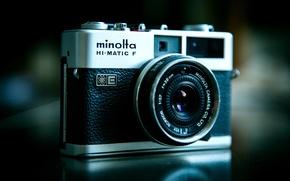 Картинка ретро, фото, камера, фотограф, объектив, оптика, технология, зум, затвор, оборудование, Minolta, фототехника