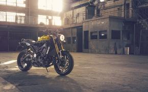 Картинка Yamaha, moto, style, yellow, sportclassic, 2016, XSR900