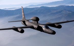 Картинка полет, разведчик, стратегический, Lockheed U-2, «Dragon Lady»