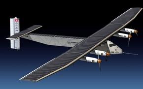 Обои энергии Солнца, летать, за счёт, способный, самолёт, Solar Impulse 2