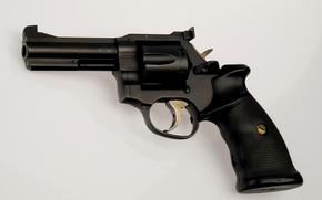 Картинка пистолет, ствол, револьвер, magnum