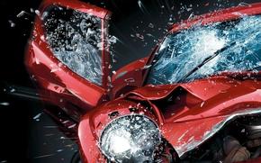Картинка car, машина, авто, Burnout, Paradise, авария