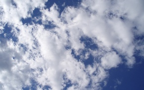 Обои день, небо, облака