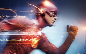 Картинка TV Series, The Flash, Grant Gustin, Грант Гастин, Флеш, Barry Allen
