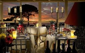 Картинка дизайн, стиль, интерьер, ресторан