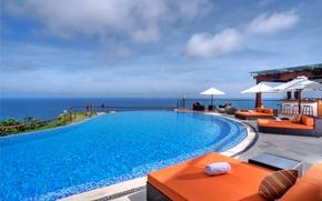 Картинка море, настроение, отдых, бассейн, relax